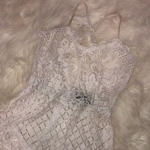 e17f294dab1167 AKIRA Intimates   Sleepwear - WHITE SEXY LACE BODYSUIT
